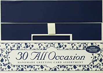 Amazon 30 handmade all occasion greeting cards with reusable 30 handmade all occasion greeting cards with reusable organizer box m4hsunfo Gallery