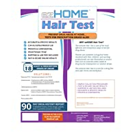 ezHOME Hair Follicle 18 Drug Compound Test - Pack of 1