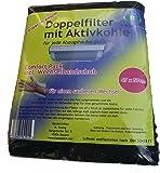 C-lean House Double filtre avec confort à charbon actif -. Emballez changer de gants incl coupe individuelle, 47 x 57 cm