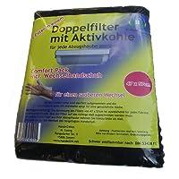 C di Lean House doppio filtro con Carbone attivo Comfort–Confezione incl. Cambio Guanti Sezionare, 47x 57cm