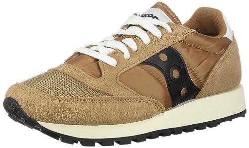best loved cc5da 31f9a Saucony Originals Men's Jazz Original Sneaker, tan/Navy