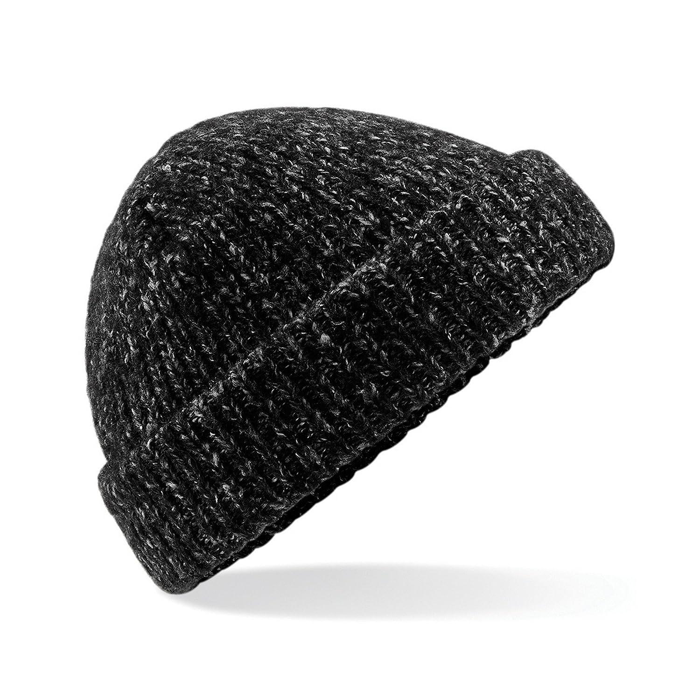 Beechfield Unisex Adults Glencoe Knitted Winter Beanie Hat UTRW5189_1