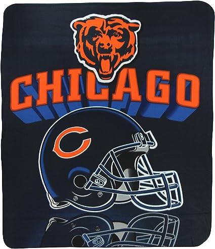 Chicago Bears Fleece Blanket Throw