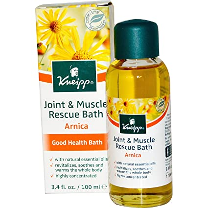 Kneipp Arnica Bath Oil for Sore Muscles