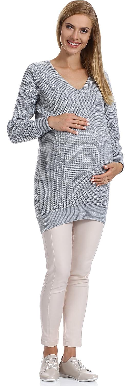 Be Mammy Damen Umstandspullover R5X6