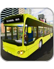 School Bus Simulator 2018 : free for kids rush car truck app taxi home baby crash coach wash hill horn drive man pick up rush sim Volvo limo high mania new york real life zone dr usa next uber  cabs rider ride metro games road trip tour city super