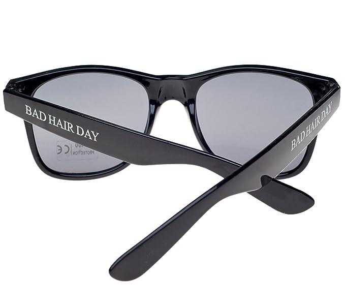 17c2f64b1c Gafas de sol Hombre Mujer Original Bad Hair Day Unisex diseño Retro de gafas  de sol UV400: Amazon.es: Ropa y accesorios