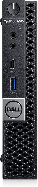 Dell OptiPlex 7070 Micro Desktop Computer - 2.2 GHz Intel Core i5-9500T Six-Core - 256GB SSD - 8GB - Win10 pro (Renewed)