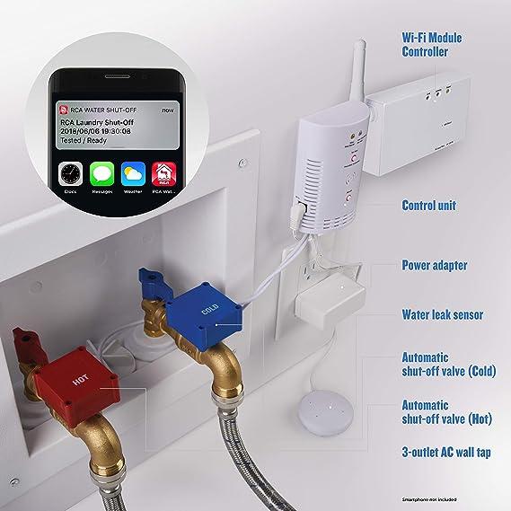 Amazon.com: Detector automático de fugas de agua de ...