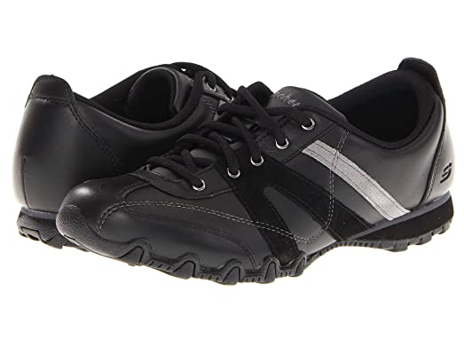 Bikers Sentinel Womens Oxfords Shoes Black 5 Skechers
