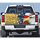 Truck Tailgate Wrap Decal We The People Eagle 3m 7 Yr Vinyl Laminated