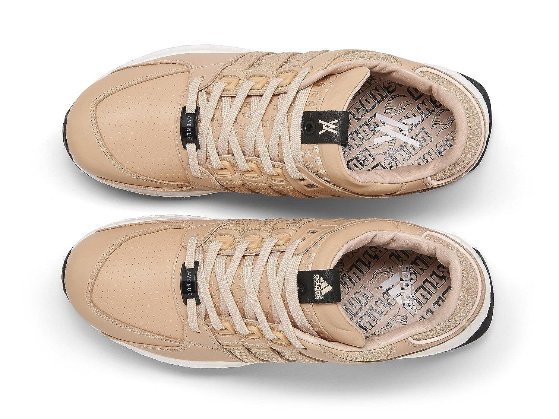 innovative design c2d43 40dca Amazon.com  adidas Consortium x Avenue Men EQT 9316 Support  (BlackVegetable tanWhite)  Fashion Sneakers
