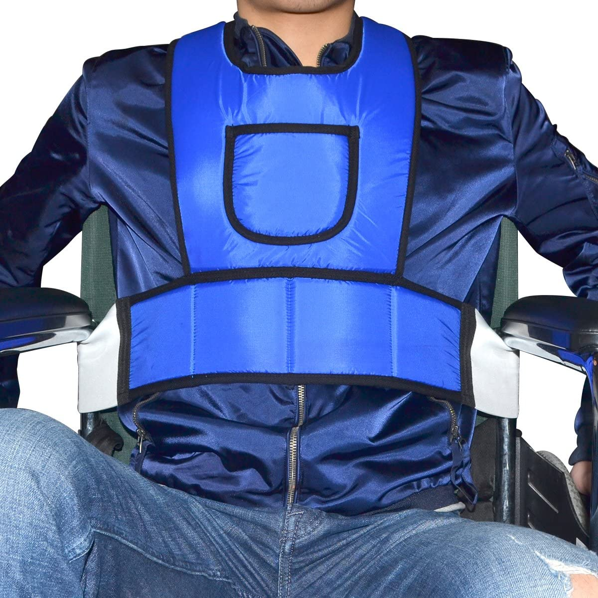 Chenhon Criss Cross Chest Vest Restraint for Use with Bed or Chair (Size:M) …