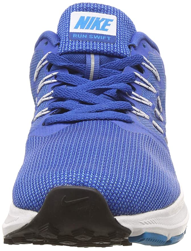 new arrival af8ff dfca9 Nike Run Swift - Chaussures de Running, Homme, Bleu - (Battle Blue White- Blue Jay-Black)  Amazon.fr  Sports et Loisirs