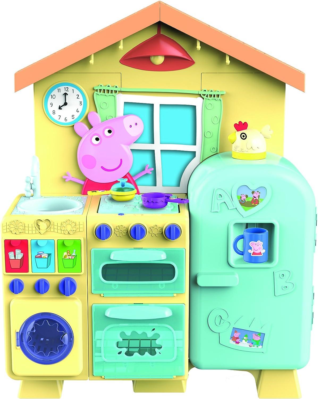 De Peppa Pig Peppa Casa Cocina, 21 piezas Incluye (Se distribuye desde el Reino Unido): Amazon.es: Juguetes y juegos