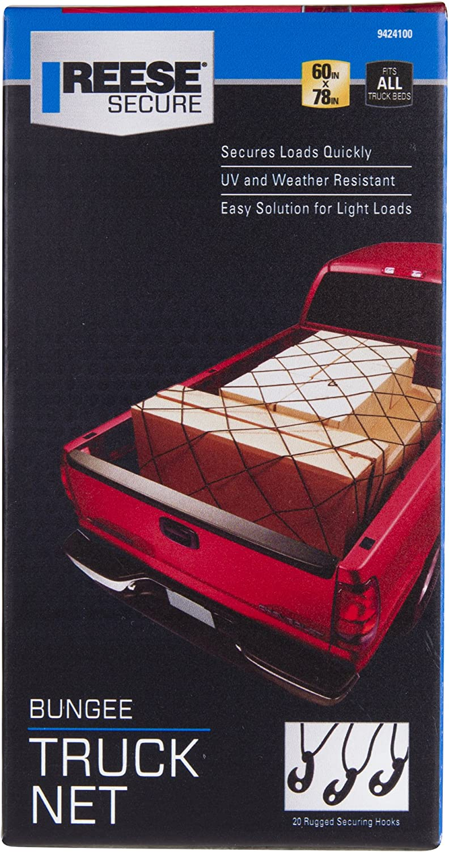 Reese Secure 9424100 60 x 78 Bungee Truck Net