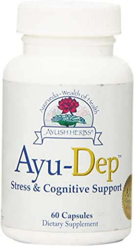 Ayush Herbs Ayu-Dep Herbal Supplement, 60 Count