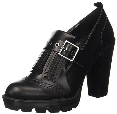 Bata 7216220, Zapatos con Plataforma para Mujer, Negro, 41 EU Bata