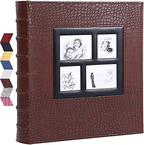 Vienrose Photo Album for 600 4x6 Photos Leather Cover Extra Large Capacity for