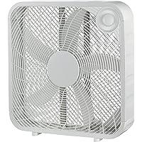 """Ventilador Mainstays de Caja con 3 velocidades de 20"""" (50.8 CM) Carcaza Resistente al Exterior FB50-16HW(Blanco)(Renewed…"""