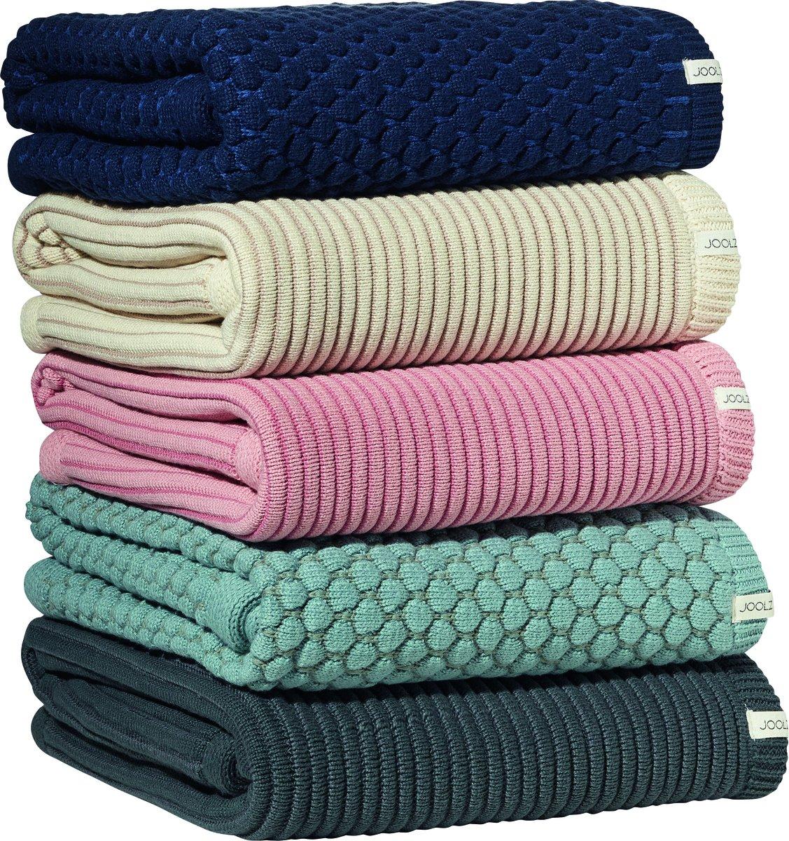 Blue Joolz Essentials Ribbed Blanket