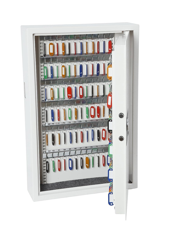 Phoenix 0031 elektronischer Schlüsselkasten Montagematerial Schlüsselringe und Anhänger für 144 Schlüssel 21 kg 430 x 130 x 660 mm