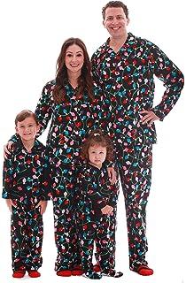 1b15ddc767 Amazon.com: SUNNYBUY Christmas Family Matching Pajama Set Xmas ...