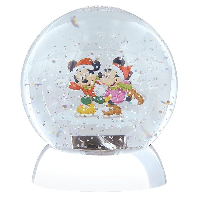 Disney Enesco Beauty /& The Beast Waterdazzler Globe beleuchtete Schneekugel
