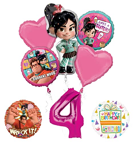 Image Unavailable Not Available For Color Wreck It Ralph 4th Birthday Party Supplies