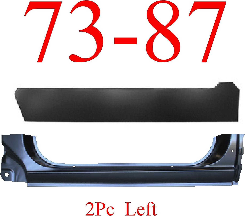 88 98 2Pc Left Front Door Bottom /& Inner Outer Chevy GMC Crew Cab Suburban