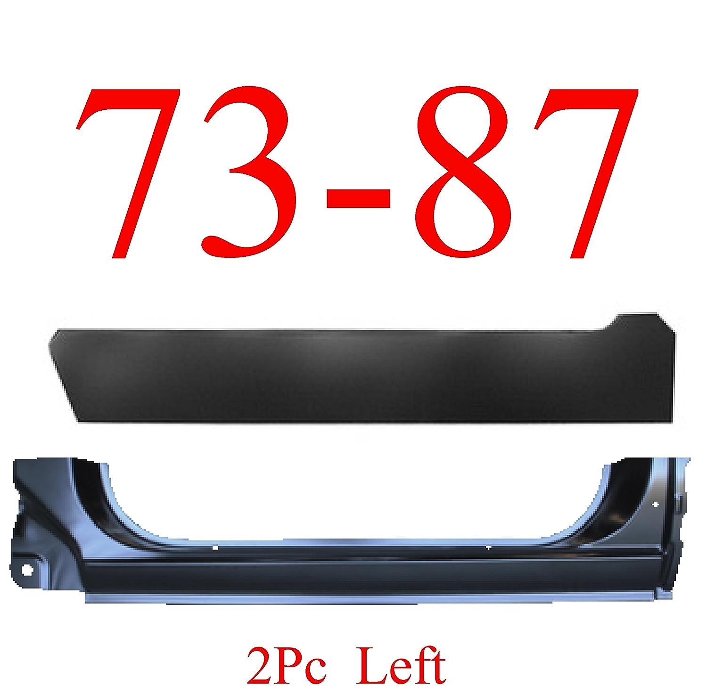 73-87 Chevy 2Pc Left Extended Rocker Panel /& Inner