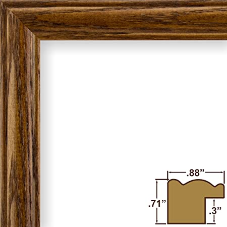 11x18 Picture / Poster Frame, Wood Grain Finish, .88\