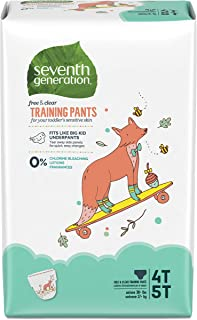 product image for Seventh Generation Baby & Toddler Training Pants, XLarge Size 4T-5T, 68 count