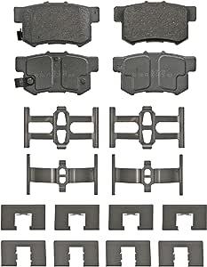 Frt Ceramic Brake Pads  Silent Stop  QX702