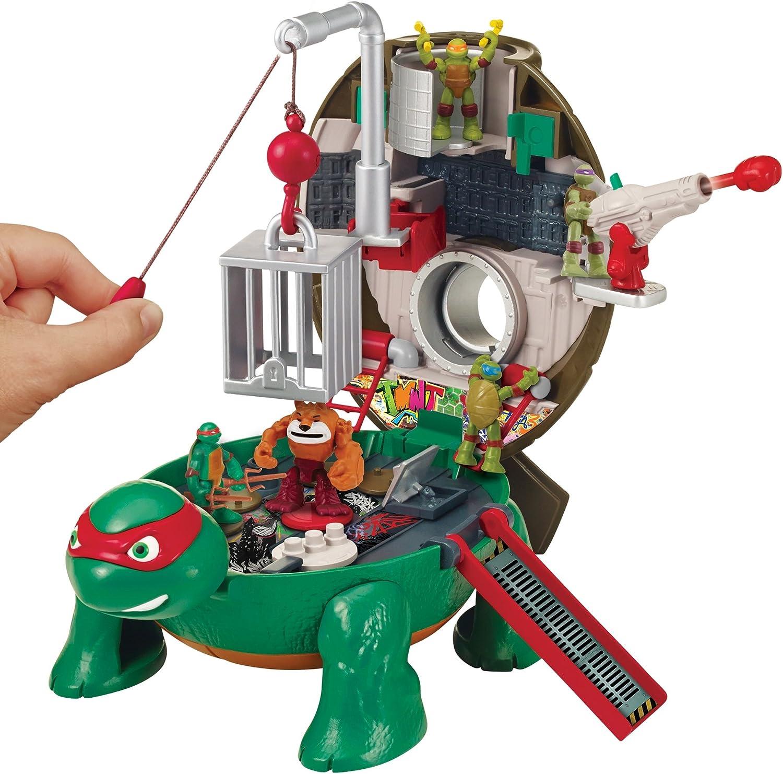 Teenage Mutant Ninja Turtles Micro Mutant Raphael/'s toit Pet à Turtle Play