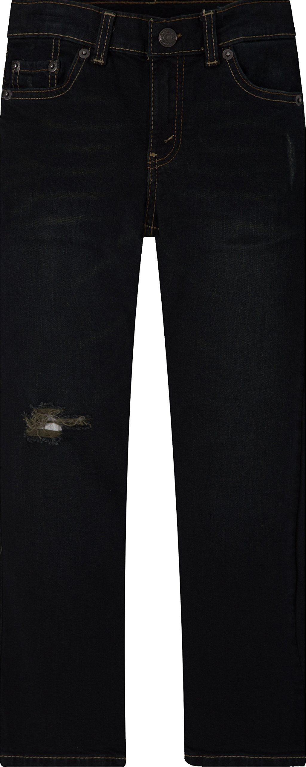 24ad41ff Galleon - Levi's Boys' Big 511 Slim Fit Distressed Jeans, Dirt Road 12