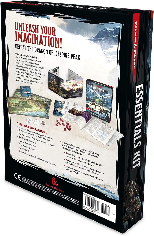 Dungeons & Dragons C70080000 Essentials Kit, Multi Juego de ...