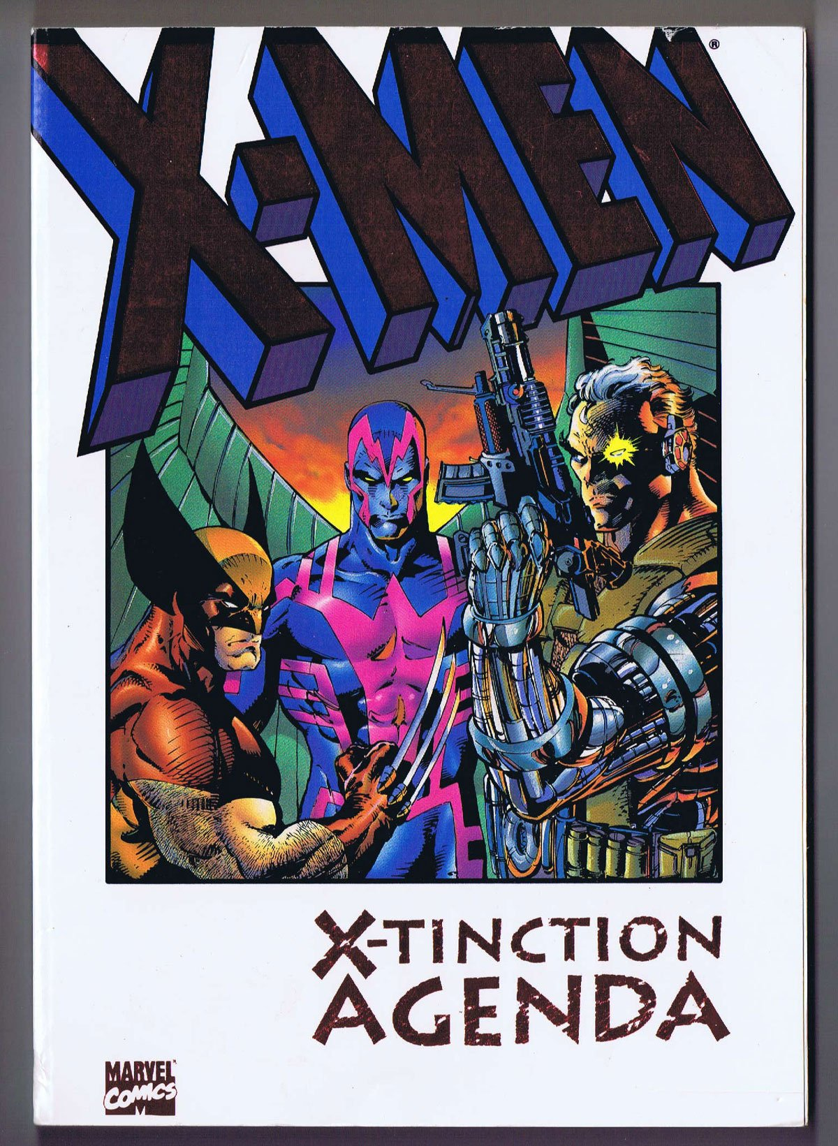 Amazon.com: X-Men: X-Tinction Agenda TPB (0759606359226 ...