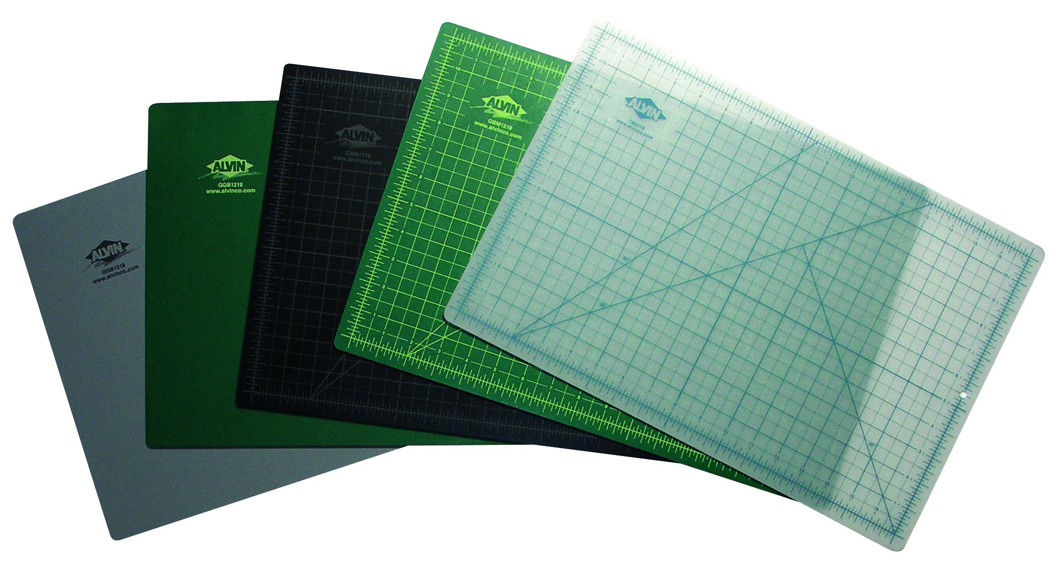 Alvin GBM3042 GBM Series Green/Black Professional Self-Healing Cutting Mat 30 inches x 42 inches by Alvin