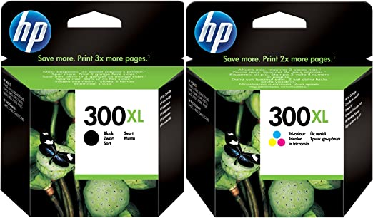HP 300 X L negro y color Cartuchos de tinta en papel de embalaje (Pack de 2): Amazon.es: Informática