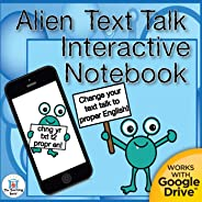 Text to English Grammar Interactive Printable or Google Drive™ Notebook Unit