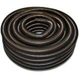 "1.5"" (40mm) Corrugated Black Pond Flexi-Hose 10 Meters"