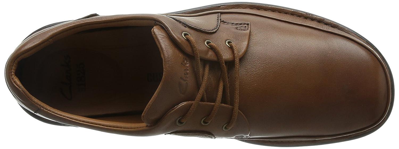 Clarks Butleigh Braun, Edge- Herrenschuhe Sneaker / Schnürschuh, Braun, Butleigh leder (fettleder) Braun 7a0ff9