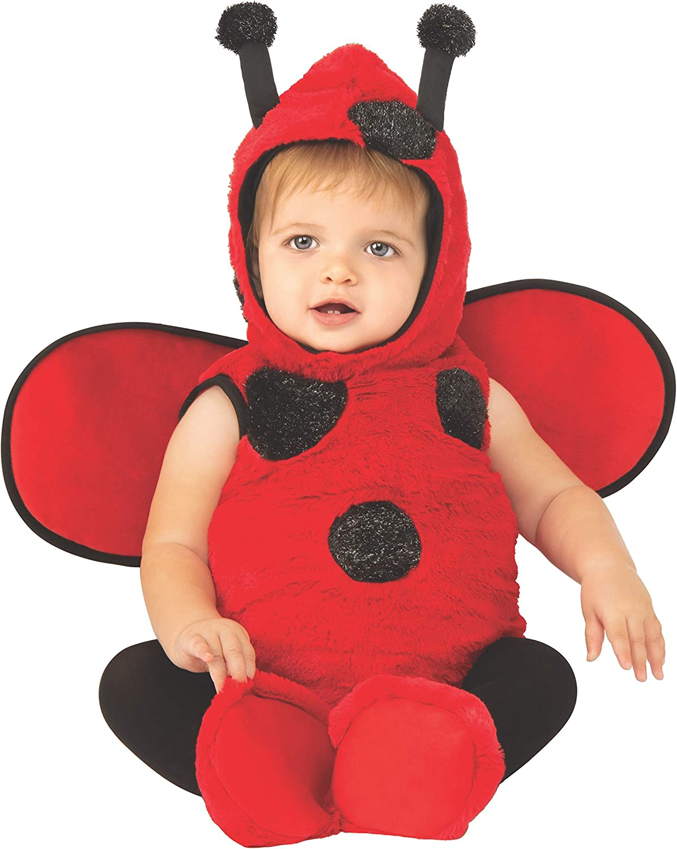 Little Red Ladybug Baby Girl Costume