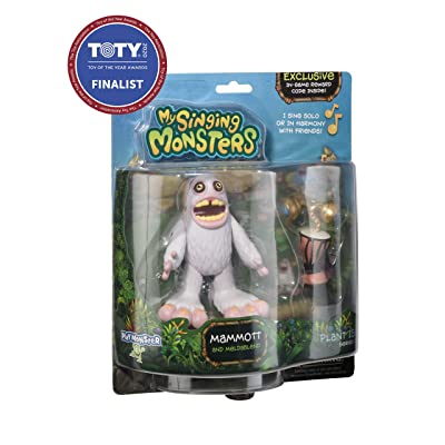 My Singing Monsters Musical Collectible Figure- Mammott: Toys & Games