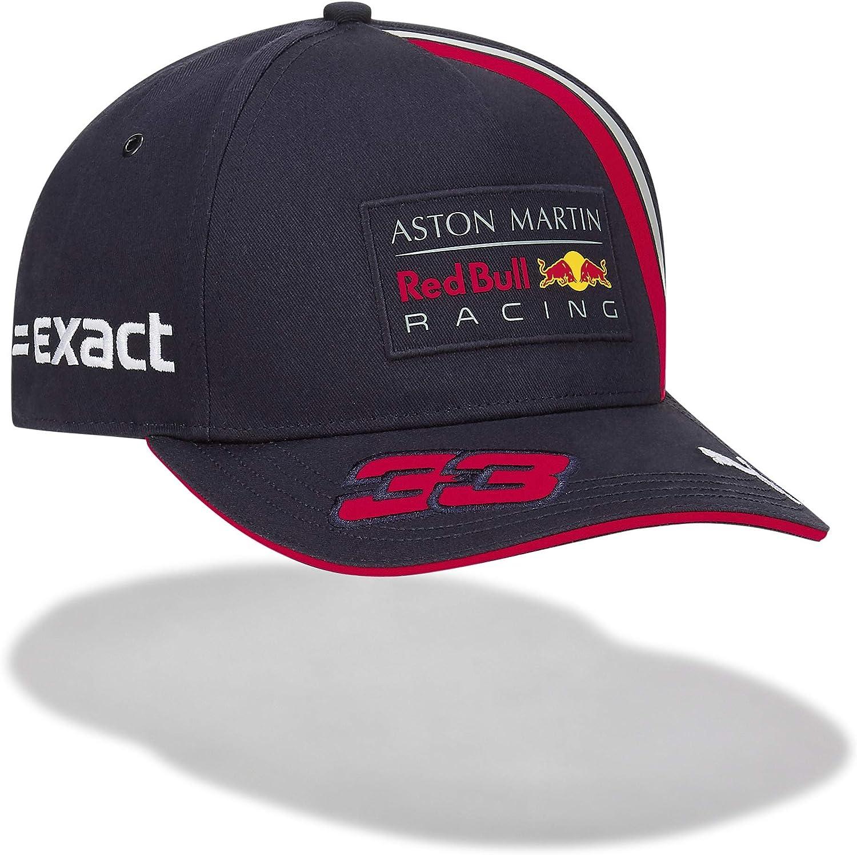 Red Bull Racing MAX Verstappen Driver Gorra, Azul Unisexo Talla ...