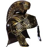 Roman Deluxe Centurion Helmet Costume Fancy Dress Centurian