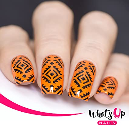 Buy Whats Up Nails Aztec Nail Stencils Stickers Vinyls For Nail