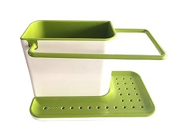 Amazon.com: YOFIT Kitchen Soap and Sponge Holder, Sink Caddy ...