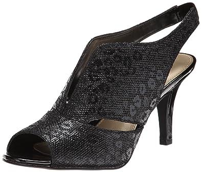 00368b4626 Amazon.com | Bandolino Women's Mirabella Fabric Dress Pump, Black, 6 ...